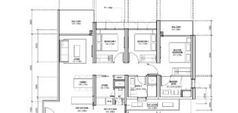 avenue-south-residence-condo-new-launch-floor-plans-types-three-bedroom-premium-singapore