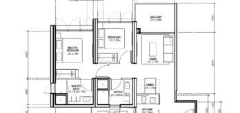avenue-south-residence-condo-new-launch-floor-plans-types-two-bedroom-premium-horizon-singapore