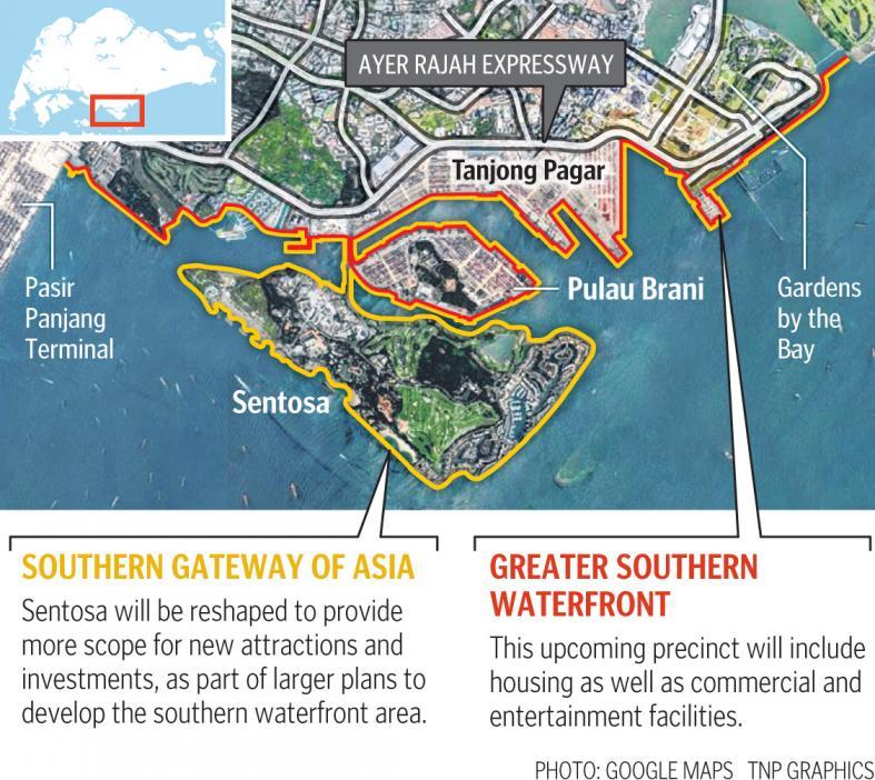 sentosa-pulau-brani-master-plan-greater-southern-waterfront-singapore
